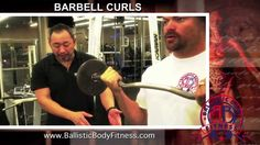 Barbell Curls for toned and sculpted arms - BBF 90 Day Fitness Challenge video.  Ballistic Body Fitness / Personal Trainer Burbank