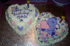 A Heffalump 1/2 Birthday cake I made