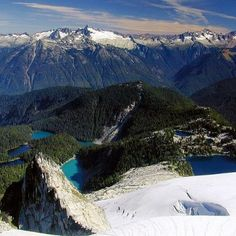 Snowkings Lake, North Cascade, Washington, USA http://www.naturescanner.nl/noord-amerika/verenigde-staten/westkust-amerika/washington-state