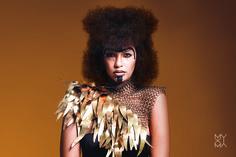 Muxima Roots © 2015 Photo by Gonçalo Claro Hair stylist: Elsa Brandão Make-up artist: Carina Quintiliano Styling: Josine Monalisa, Model: Joseline Crispim