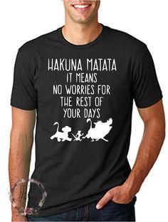 Disney Shirt // Lion King Shirt // Hakuna // Matata //Disney Family Shirts