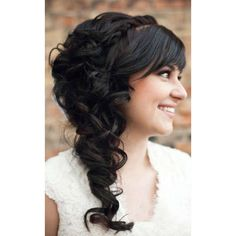 10 Creative & Unique Wedding Hairstyles for Long Hair ❤ liked on Polyvore
