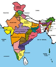 india all state map image hd 41 Best Map Of India With States Images India Map India Images Map india all state map image hd