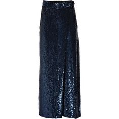 3.1 Phillip Lim Sequined silk-chiffon pants (£340) ❤ liked on Polyvore featuring skirts, pants, bottoms, saias, 3.1 phillip lim and women