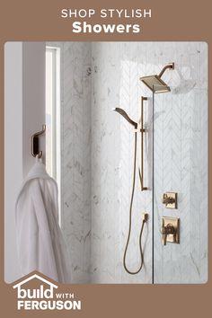 Bathroom Renos, Master Bathroom, Bathroom Ideas, Master Bath Remodel, Bathroom Design Luxury, Shower Remodel, Beautiful Bathrooms, Bathroom Inspiration, Remodeling