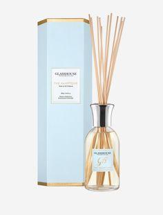 The Hamptons Teak & Petitgrain Fragrance Diffuser by Glasshouse Fragrances