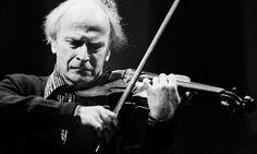 My mentor Yehudi Menuhin: 'I can still hear his beautiful sound' #violinist #violin