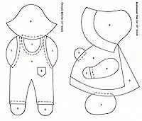 Free Sam and Sue patterns from Suestreehouse