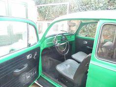 Interior  Aircooled VW Beatle 1968
