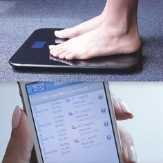 Wireless Smart Scale by BlueAnatomy #Body, #Measure, #Monitor, #Scale, #Weight, #Wireless