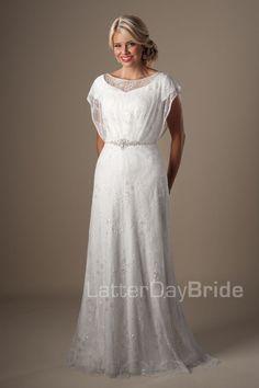 Modest Wedding Dresses : Knightly. Latter Day Bride, Gateway Bridal & Prom