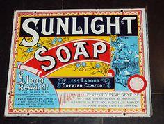 vintage soap sign - Google Search