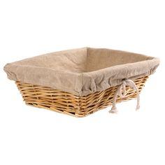 cesta pequeña mimbre