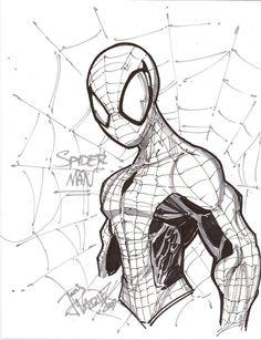 Quick Spidey sketch by JoeyVazquez on DeviantArt