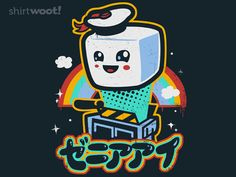 Kawaii Puft/magically delicious marshmallow, GhostBusters + rainbows