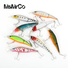 MsMrCo 1Pcs 8.8cm 7.4g 3D eyes multi jointed fishing lures fish wobbler hard artificial bait underwater Lifelike fish crank bait balikcilik bass fishing *** AliExpress Affiliate's buyable pin. Detailed information can be found on www.aliexpress.com by clicking on the image #FishingLures
