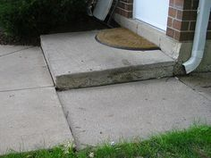 Repair Uneven Sidewalks Concrete Lifting Diy Concrete
