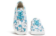 Awesome shoes for kids (and adults) drawn by artists Bucketfeet