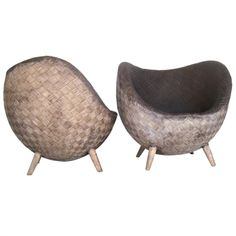 1stdibs - Pair of Egg Chairs attributed to Jean Royere explore items from 1,700  global dealers at 1stdibs.com