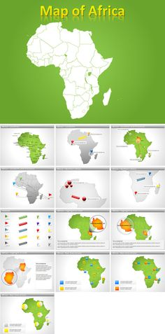 Africa PowerPoint maps
