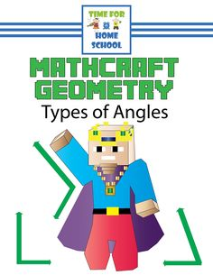 FREE! Mathcraft Geometry: Types of Angles