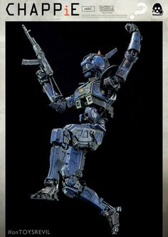 TOYSREVIL: 1/6-scaled CHAPPiE by Threezero - Pre-orders Begin March 16