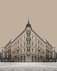 "Corner Symmetry is a photography series by a Hungarian photographer Zsolt Hlinka. Creating urban illusions, his images are a surrealistic journey through the city of Budapest. Set against solid, stark backgrounds, these are the architectural details that come to spotlight . ""Corner Symmetry series takes the ideas from Urban Symmetry and brings them one step …"