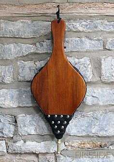 picture of bellows Brown Wood, Dark Brown, Hat Hooks, Brass, Leather, Design, Rice