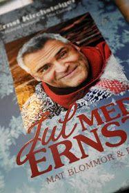 """Jag har en bok som heter """"Jul med Ernst"""" där allas vår Ernst Kirschsteiger tipsar om lite roliga recept och pyssel inför julen. En h..."""
