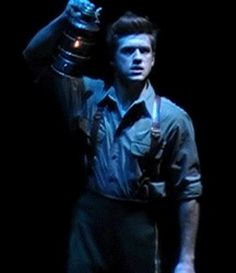 "Aaron Tveit as Fiyero in Broadway's ""Wicked"""