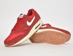 #Nike Air Max 1 Red #sneakers