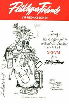 Kjell Aukrust. Flåklypa Tidende. Med Melvin Snerken Ski Vm 1982. Utg Helge Erichsens forlag Character Inspiration, Character Design, Norway, Abs, Comic Books, Christmas Postcards, Comics, Artist, Pictures