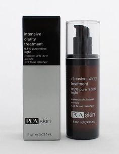 PCA Skin Intensive Clarity Treatment 0.5% Pure Retinol Night, 1 Fluid Ounce