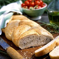 Herbed Country Twist Bread * 1 loaf