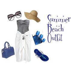 Beach Outfit!, created by tracyxhodgson on Polyvore