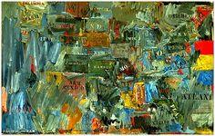 Jasper Johns   Map, 1963