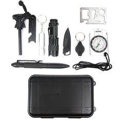 Emergency Survival Kits 10 in 1