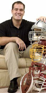 Ross Tucker, NFL player/analyst (May 6/14 show) nflfemale.com Click on Media tab - Podcast Guests