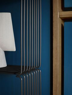 Panton Wire is raw yet elegant, light yet industrial in its design. The Panton Wire units can be used individually or in combination – on the floor, hanging on the wall or as room dividers. ⁠⁠Panton Wire is available in two depths and in chrome or lacquered in the colours Snow, Black and Monarch. ⁠⁠Design by Verner Panton.⁠ Wire Shelving, Room Dividers, Pantone, Montana, Furniture Design, Chrome, Industrial, Snow, Colours