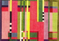 Bahuhaus textile by Gunta Stölzl, 1926