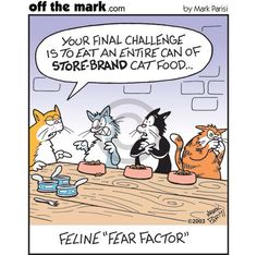 Kitty Fear Factor - Off the Mark by Mark Parisi