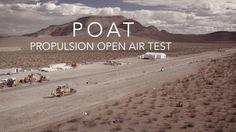 Hyperloop One - Propulsion Open Air Test - Maybe not a machina, but damn!