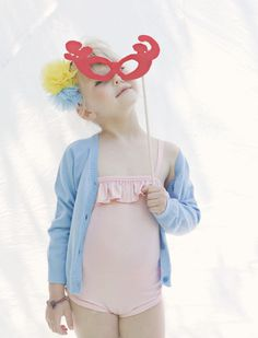 """A little Lexie girl in the making. """"Summergirl"""" Our summer jewels at www.myrnahalpern.com"""