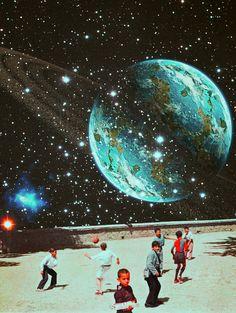 Retrospective Dream. Surreal Mixed Media Collage Art By Ayham Jabr. Instagram-Facebook