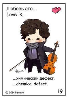 Sherlock and his violin. Sherlock Holmes Bbc, Sherlock Fandom, Benedict Cumberbatch Sherlock, Sherlock John, Moriarty, Sherlock Fan Art, Johnlock, Sherlock Holmes Dibujos, The Paradise Bbc