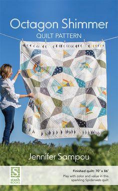 Octagon Shimmer Quilt Pattern