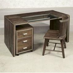 Hammary Flashback Parson Desk is a good sized desk