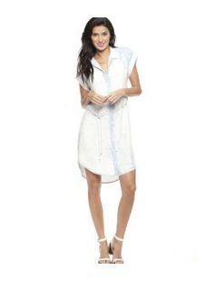 Bella Dahl Bleached Crossback Dress
