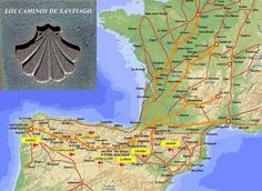 Los Caminos de Santiago.