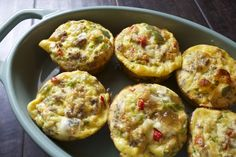 Turkey Sausage & Bell Pepper Egg Cups - Food Coach Me